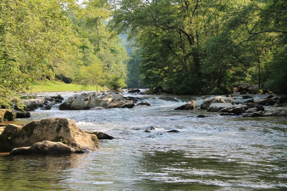 River in Pigeon Forge