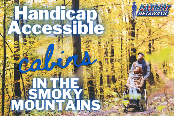 handicap accessible cabins in the smoky mountains